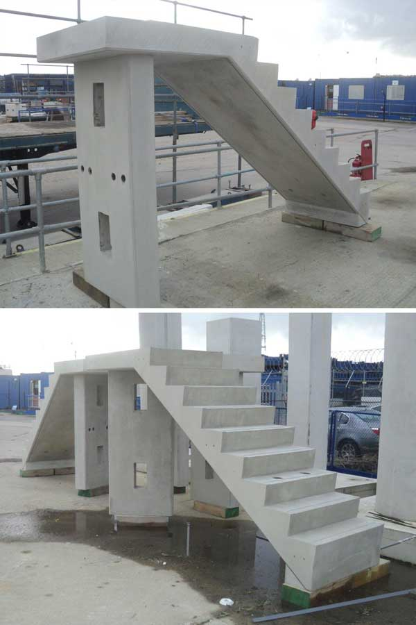 Matravers Engineering Staircase Moulds - precast concrete and steel moulds