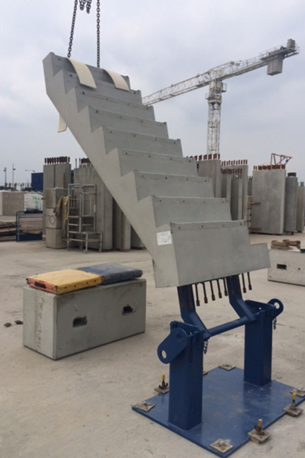 Matravers Engineering Stair Mould - - precast concrete and steel moulds
